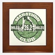 Marathon Club Framed Tile