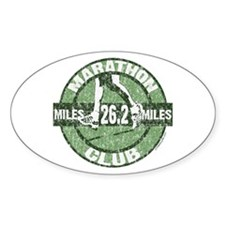 Marathon Club Decal