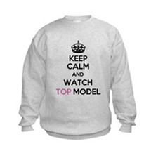 Keep Calm and Watch Top Model Jumper Sweater