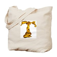 Blown Gold T Tote Bag