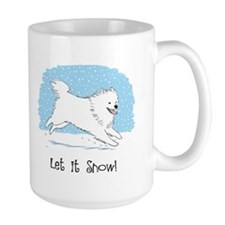 Eskie Let it Snow Dog Mug