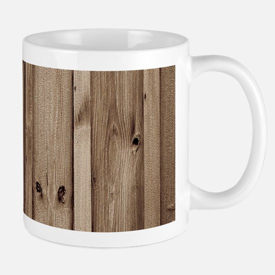 rustic farmhouse barn wood Mugs