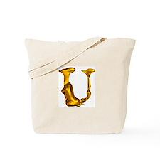 Blown Gold U Tote Bag