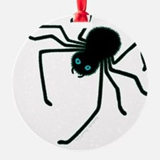Hairy Black Spider Ornament