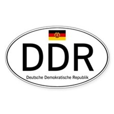 Car code DDR Decal