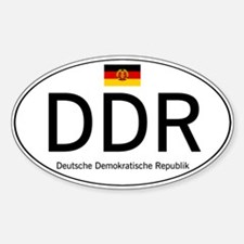Car code DDR Stickers