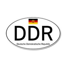 Car code DDR Wall Decal