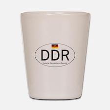 Car code DDR Shot Glass
