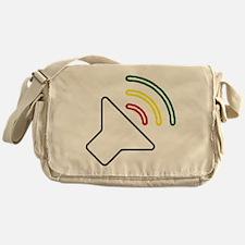 Reggae Listen Messenger Bag