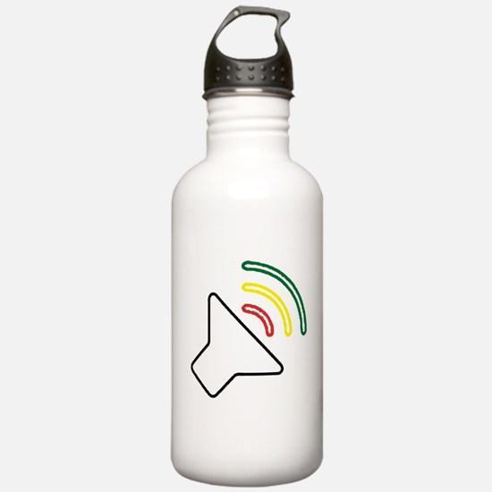 Reggae Listen Water Bottle