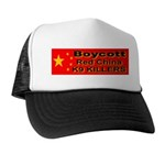 Boycott Red China K9 Killers Trucker Hat