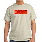 Boycott Red China K9 Killers Ash Grey T-Shirt