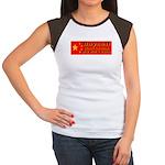 Boycott Red China K9 Killers Women's Cap Sleeve T-