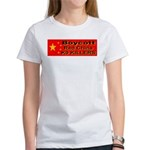 Boycott Red China K9 Killers Women's T-Shirt