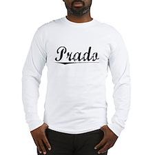 Prado, Vintage Long Sleeve T-Shirt