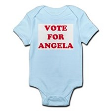 VOTE FOR ANGELA  Infant Creeper
