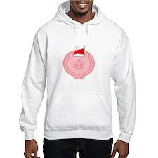 Holiday Pig Hoodie