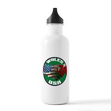 Wales USA Friendship Water Bottle