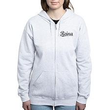 Reina, Vintage Zip Hoodie