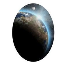 The Earth Ornament (Oval)