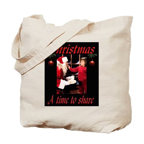 A time to share Tote Bag