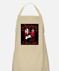 A time to share BBQ Apron