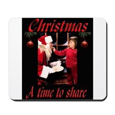 A time to share Mousepad