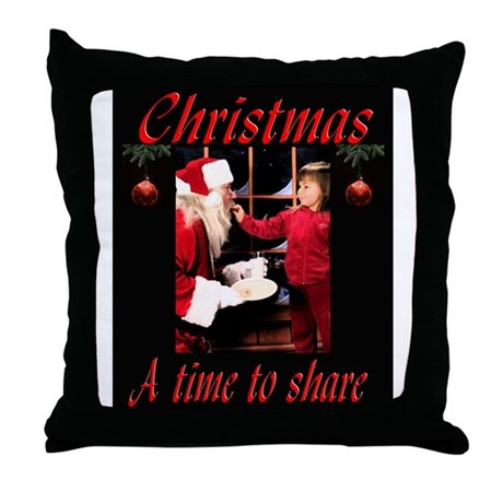 A time to share Throw Pillow