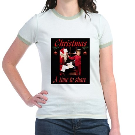 A time to share Jr. Ringer T-Shirt