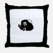 Brown Jenkin Throw Pillow