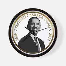 Obama Commemorative Wall Clock
