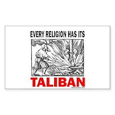 American Taliban Rectangle Decal