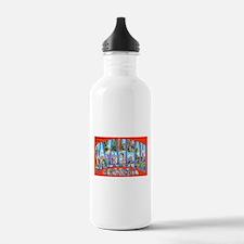 Savannah Georgia Greetings Water Bottle