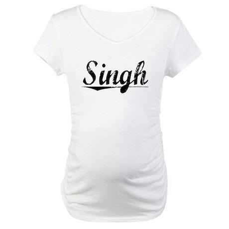 Singh, Vintage Maternity T-Shirt