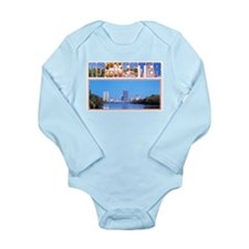 Rochester New York Greetings Long Sleeve Infant Bo