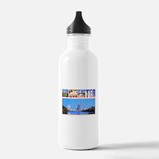 Rochester New York Greetings Water Bottle