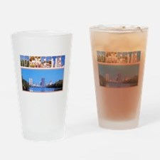 Rochester New York Greetings Drinking Glass