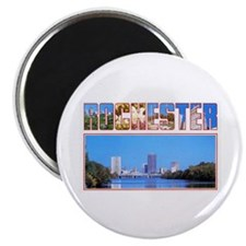 "Rochester New York Greetings 2.25"" Magnet (100 pac"