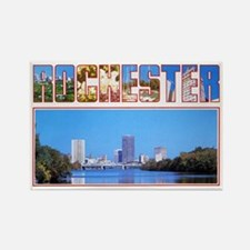Rochester New York Greetings Rectangle Magnet