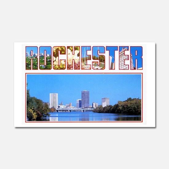 Rochester New York Greetings Car Magnet 20 x 12