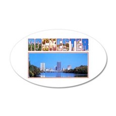Rochester New York Greetings Wall Decal