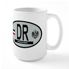 National Car Code Deutsche Reich 1871-1918 Mug