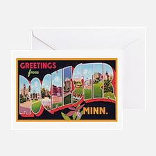 Rochester Minnesota Greetings Greeting Card