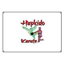 Hapkido Karate Splash design Banner