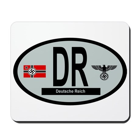 National Car Code Deutsche Reich 1933-1945 Mousepa