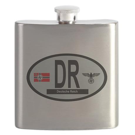 National Car Code Deutsche Reich 1933-1945 Flask