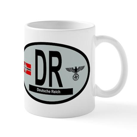 National Car Code Deutsche Reich 1933-1945 Mug