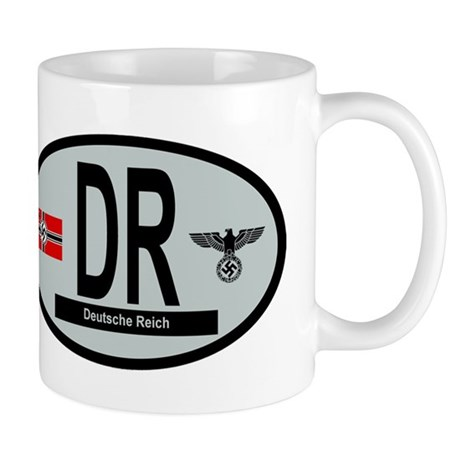 National Car Code Deutsche Reich 1933-1945 Mug