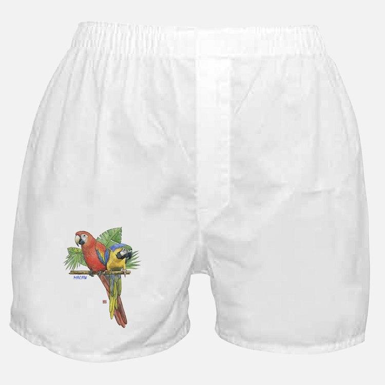 Tropical Macaws Boxer Shorts