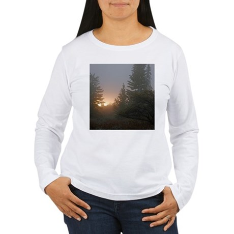 Misty mornings Women's Long Sleeve T-Shirt